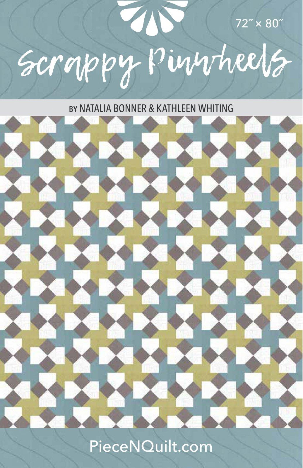 Scrappy Pinwheels Quilt Pattern - PDF Version