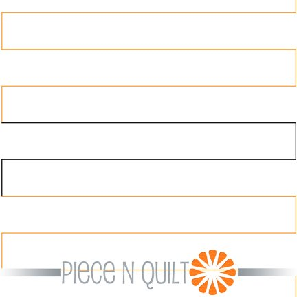 Straight Line Quilting Pantograph Pattern - Digital