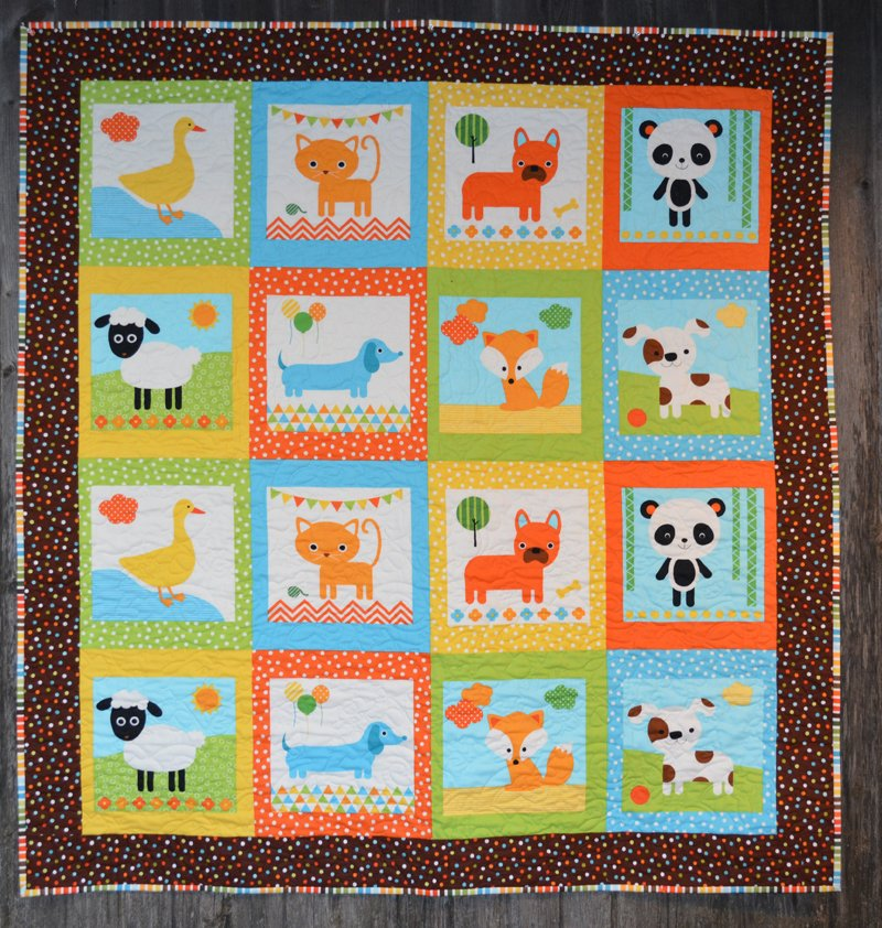 Remix baby quilt kit - Quilt rits ...