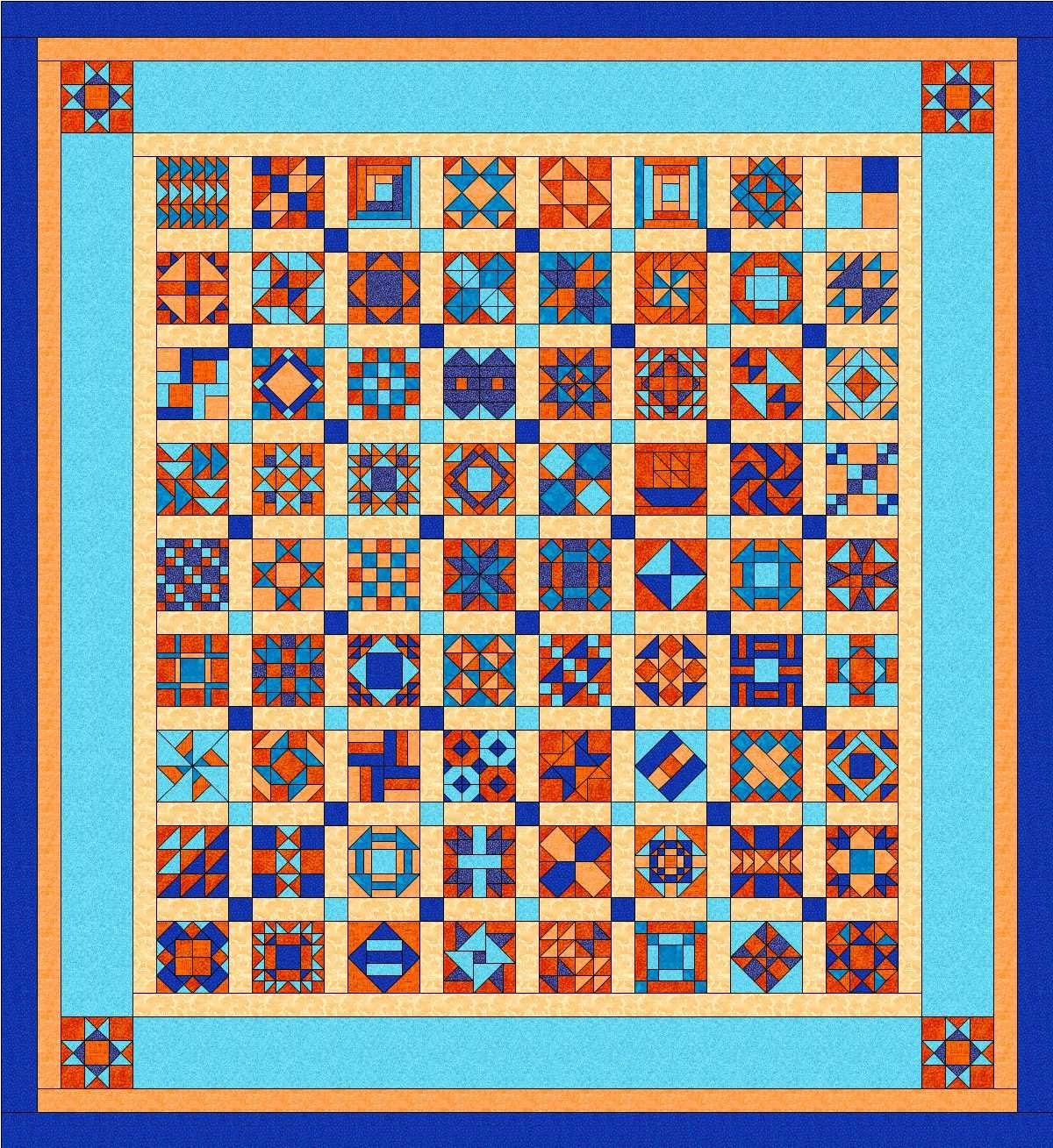Wendy's Quilts and More: Women of the Bible quilt