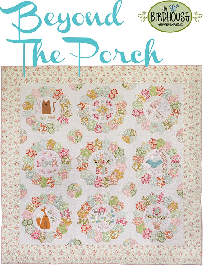 Beyond the Porch Block of the Month Kit