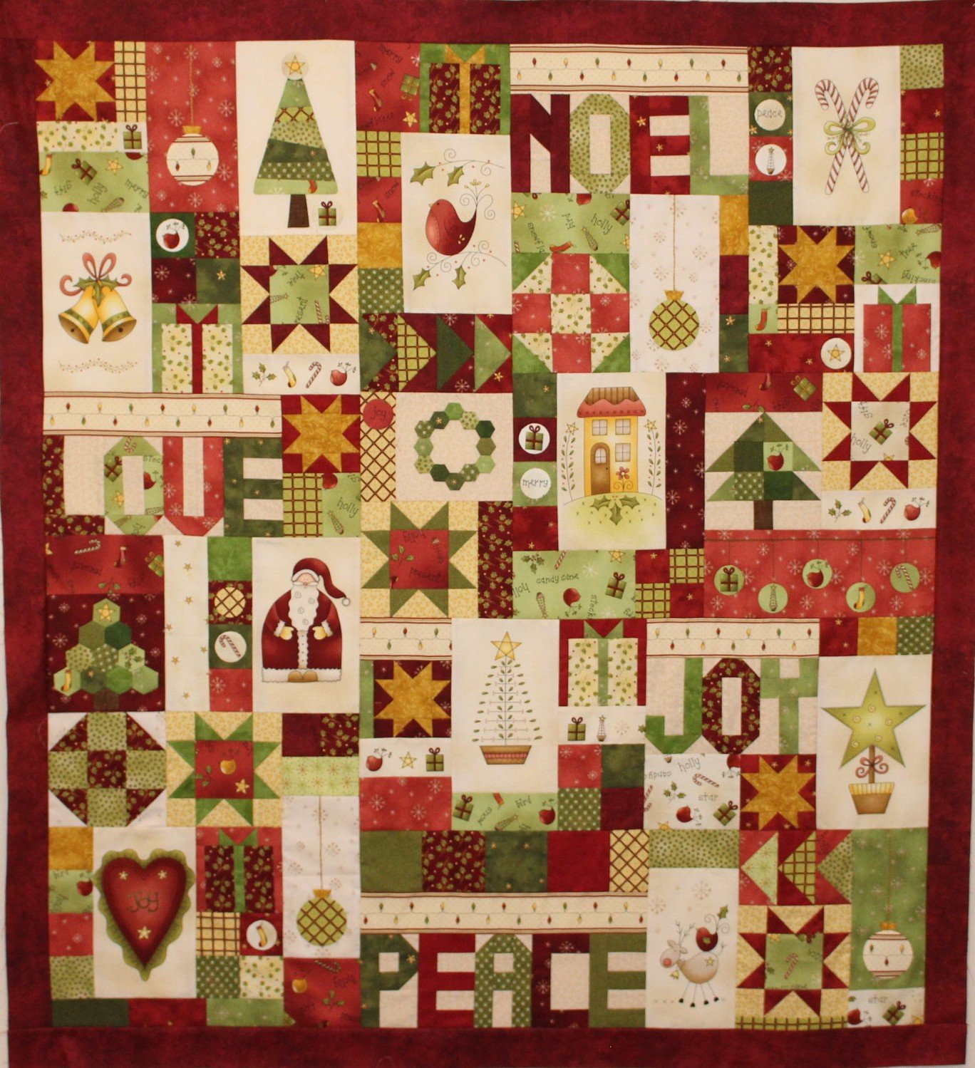 'Christmas Delights' Block of the Month Kit