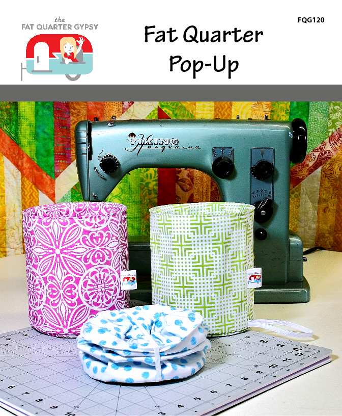 Fat Quarter Pop-Up Pattern & wire frame