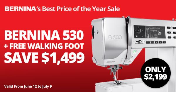 Best Price of the Year Bernina B530