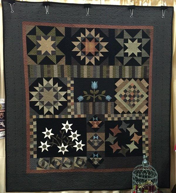Twilight Gardens - Block of the Month Quilt Kit