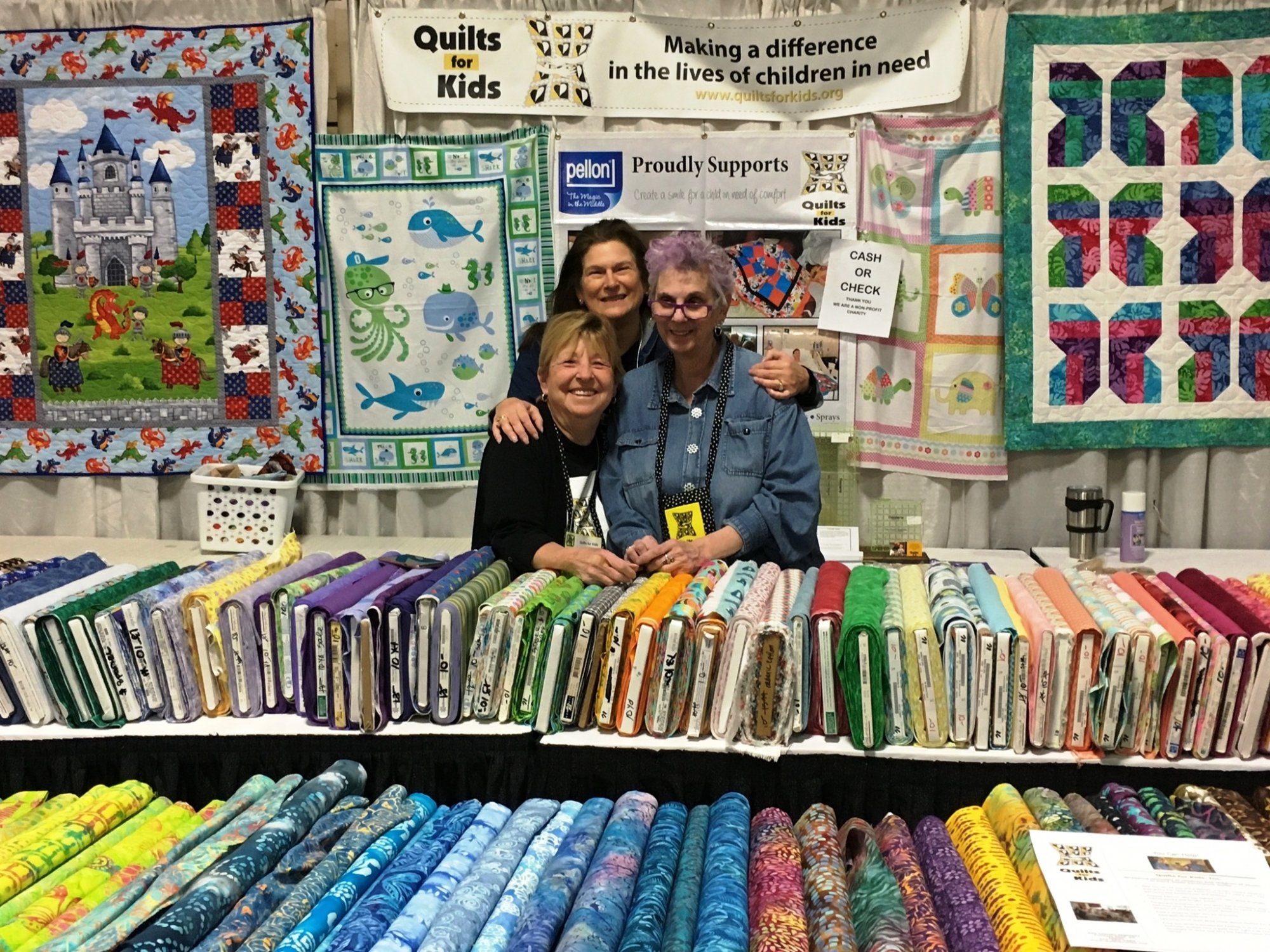One Of The Best Parts Of Being At The Mancuso Quilt Fest In New Jersey Is  Meeting Some Of Our Amazing Volunteer Quilters Some Are Younger Than  Others