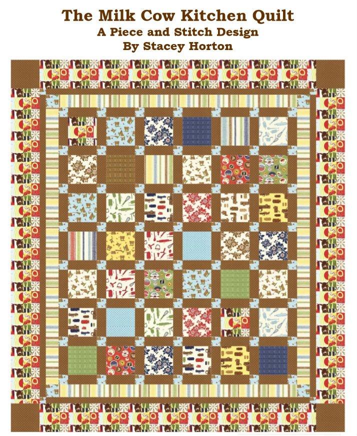 Milk Cow Kitchen Quilt Pattern