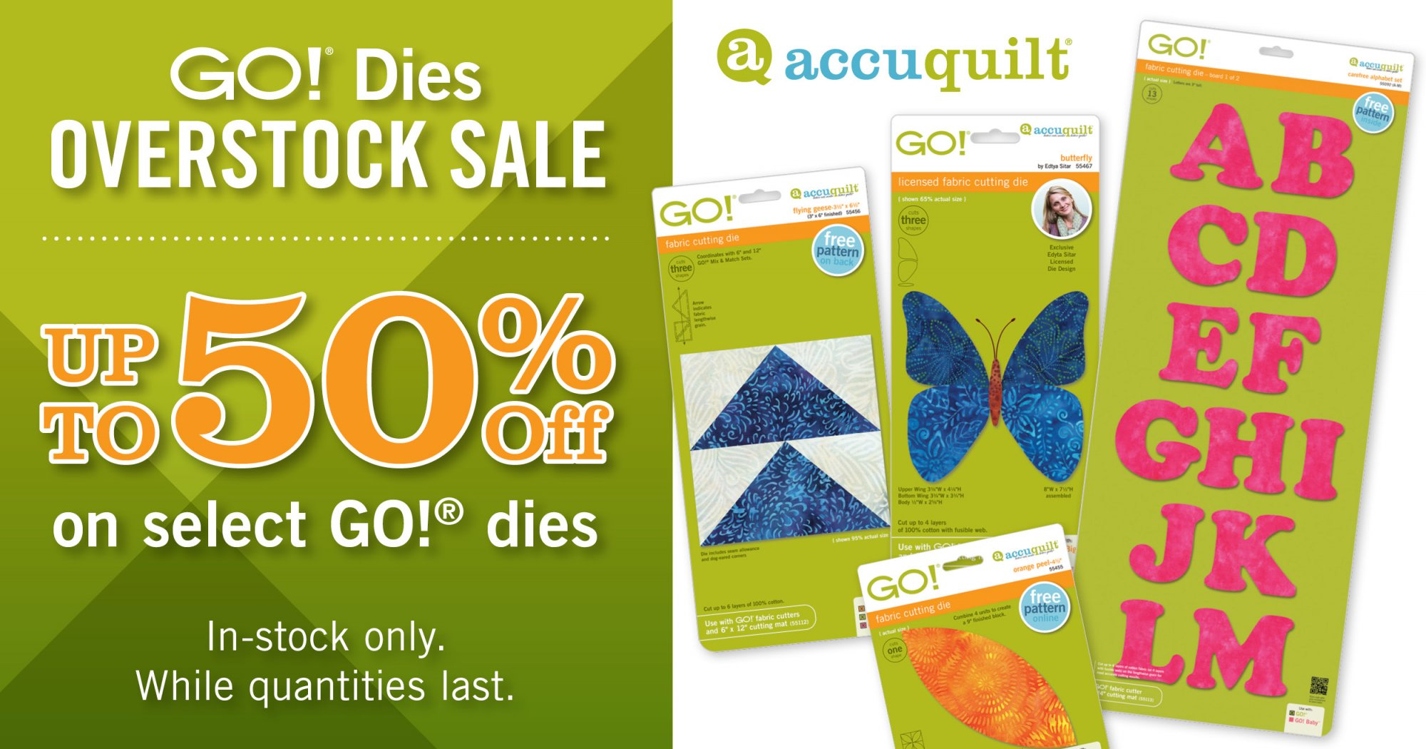 Sales And Promotions From Bernina Accuquilt Etc