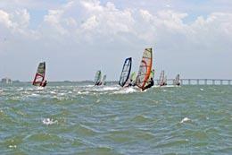 windsurfers at tierra verde