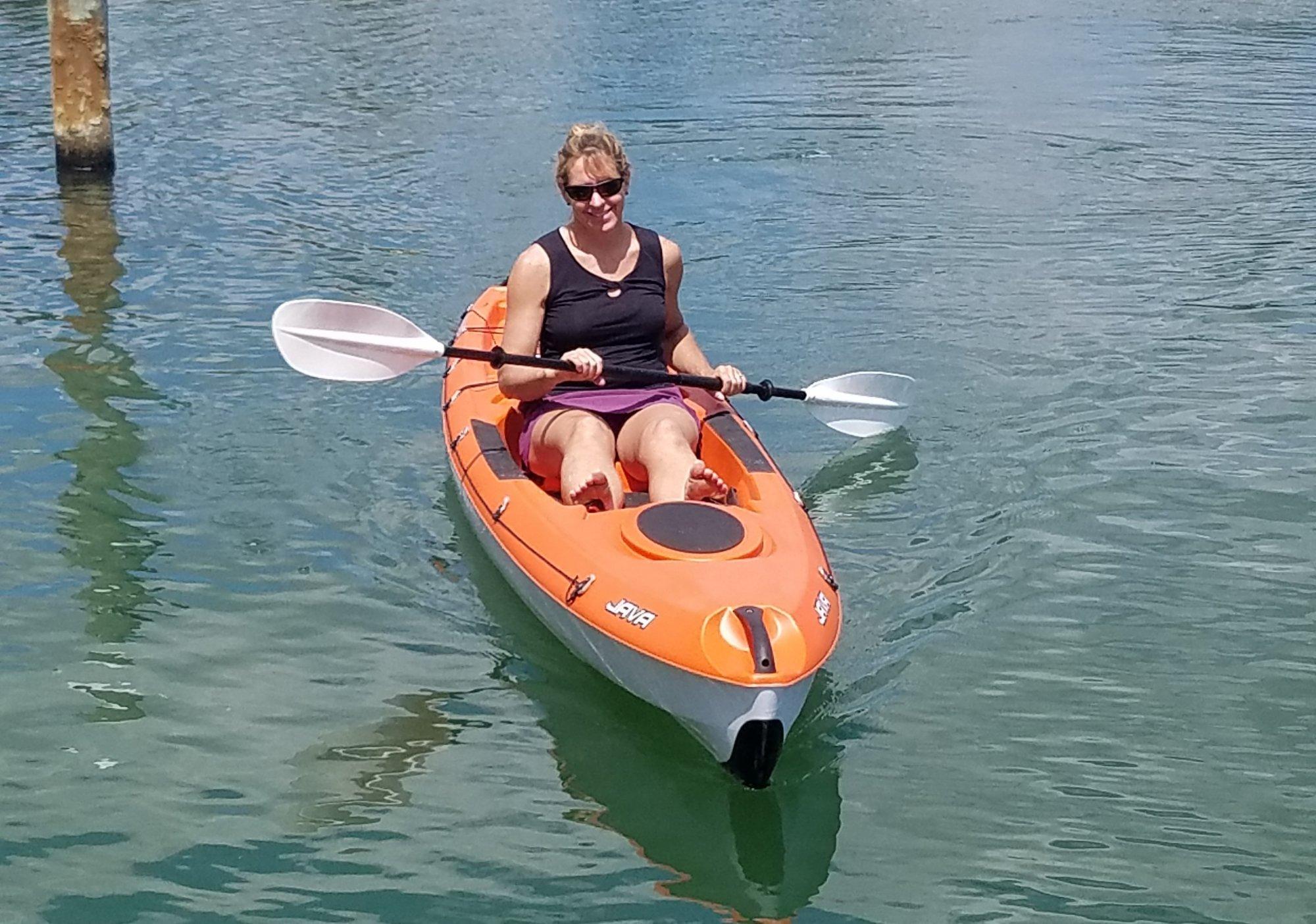 1 person kayak rental st pete beach