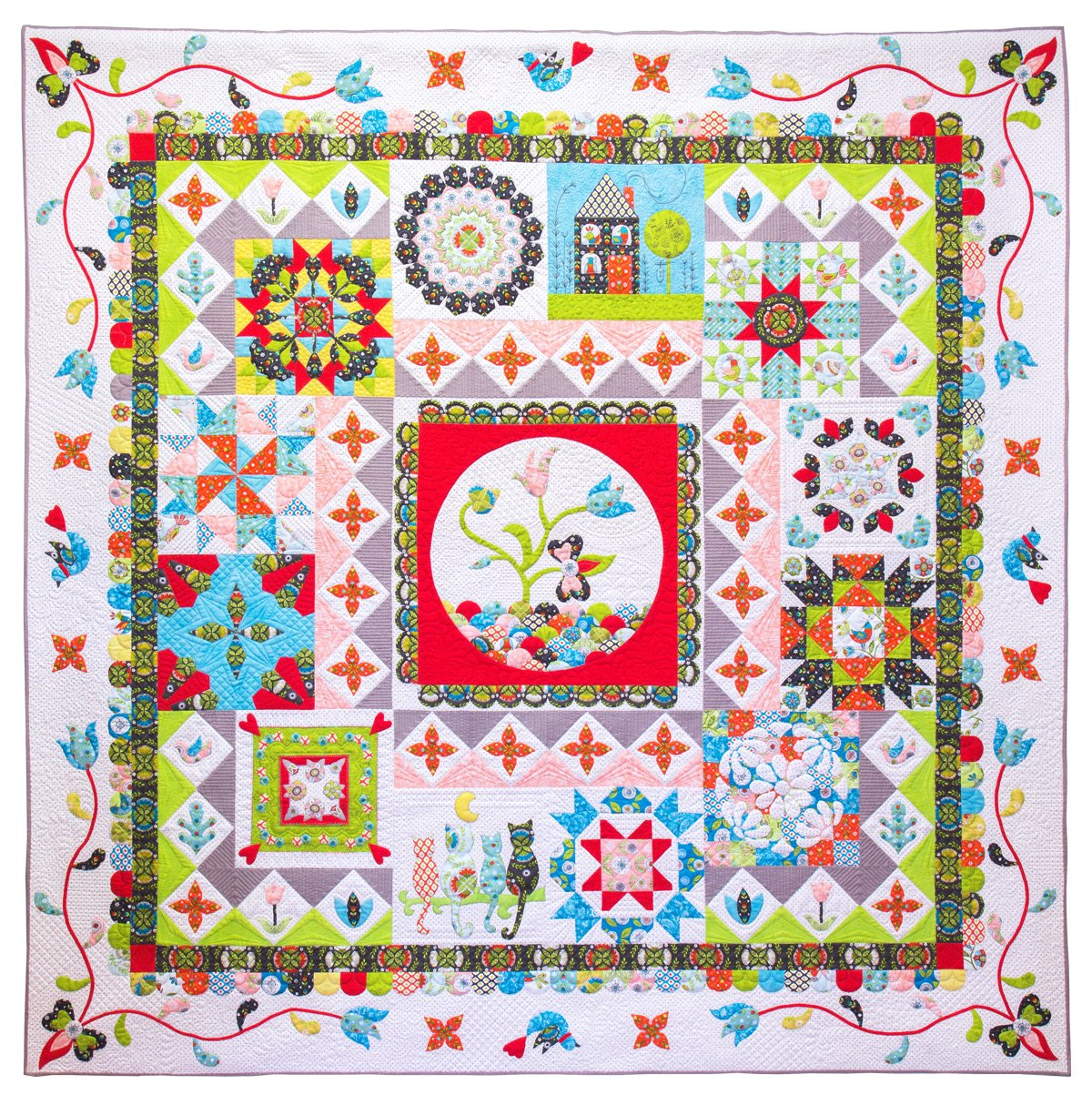 Patchwork Puzzle Block of the Month