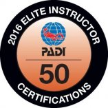 PADI Elite Instructor