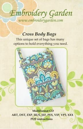 Embroidery Garden  Cross Body Bags  655036584057