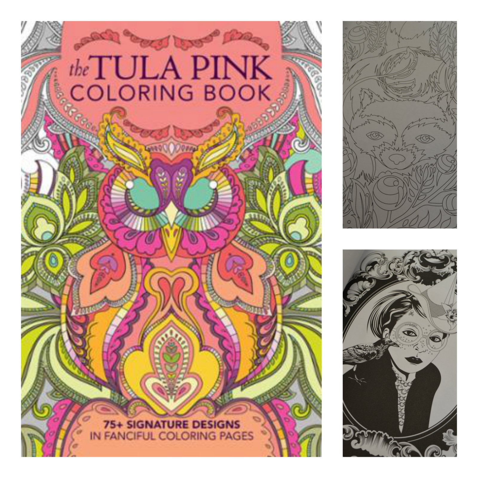 The tula pink coloring book - The Tula Pink Coloring Book