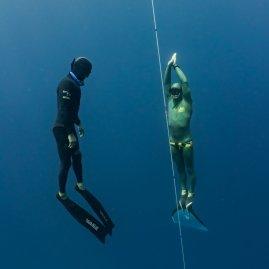 intermediate level 2 freediving class