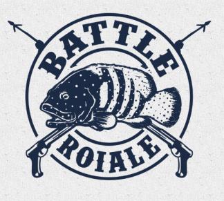 Battle Roiale Spearfishing Tournament Logo