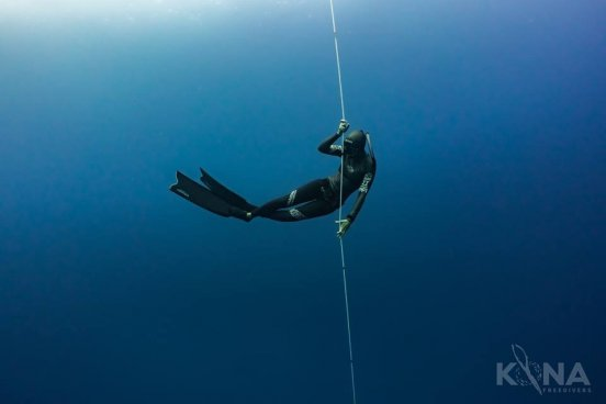 experienced freediving class