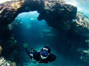 freediving kona by boat