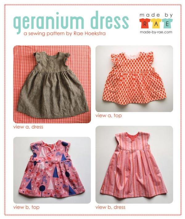Geranium Dress by Rae Hoekstra
