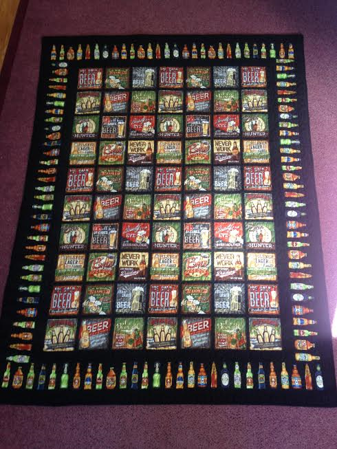 Beer Throw Black 58x75