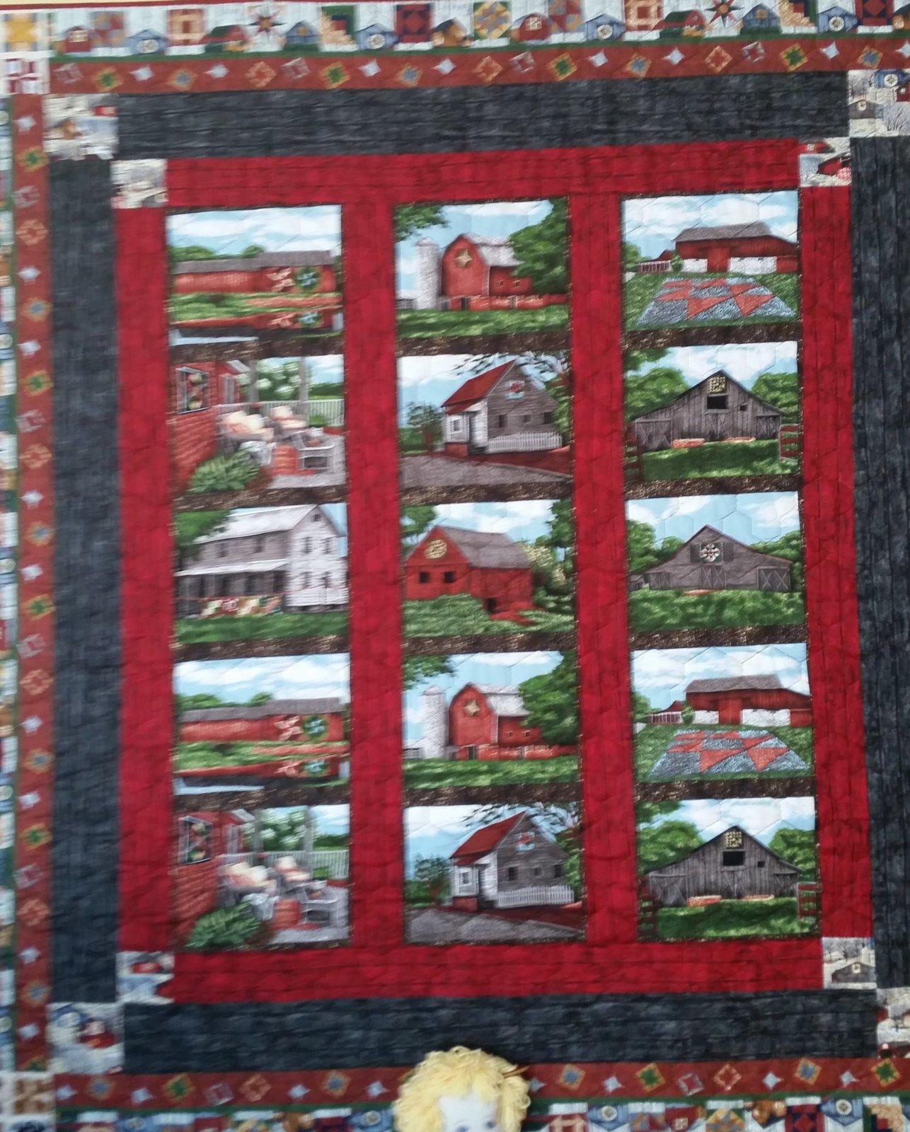 Landscape Quilt Patterns Kits : Lap Size Quilts
