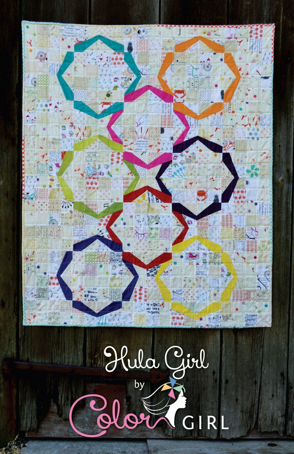 Hula Girl Quilt Kit- Color Girl
