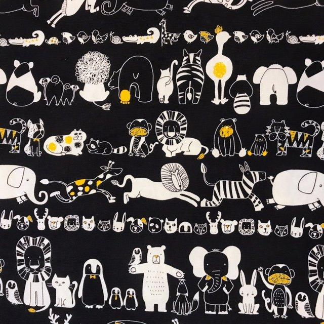 Animaland- Animals- Westex- Lightweight Canvas- Black