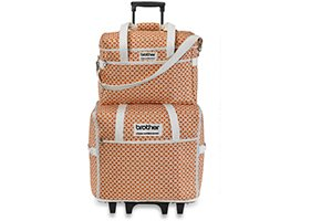 Brother Q Series Rolling Tote Set