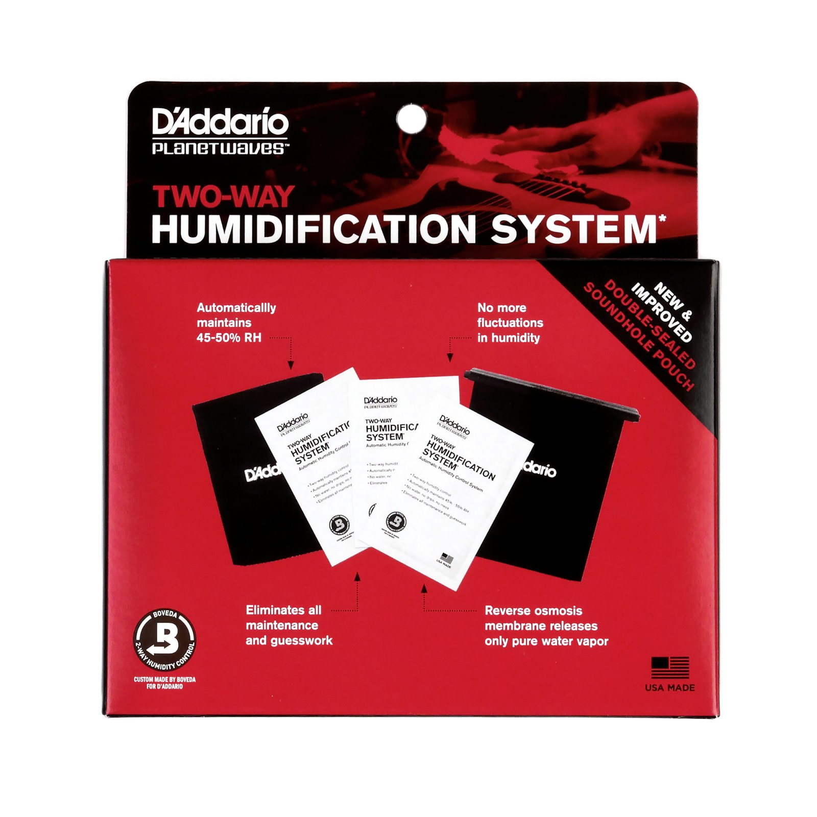 D'Addario / Planet Waves Two-Way Humidification System (PW-HPK-01)