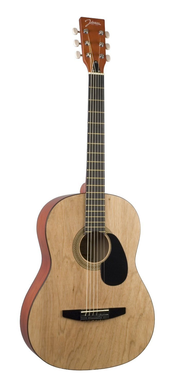 Johnson JG-100-NA Student Acoustic Guitar Matte Natural