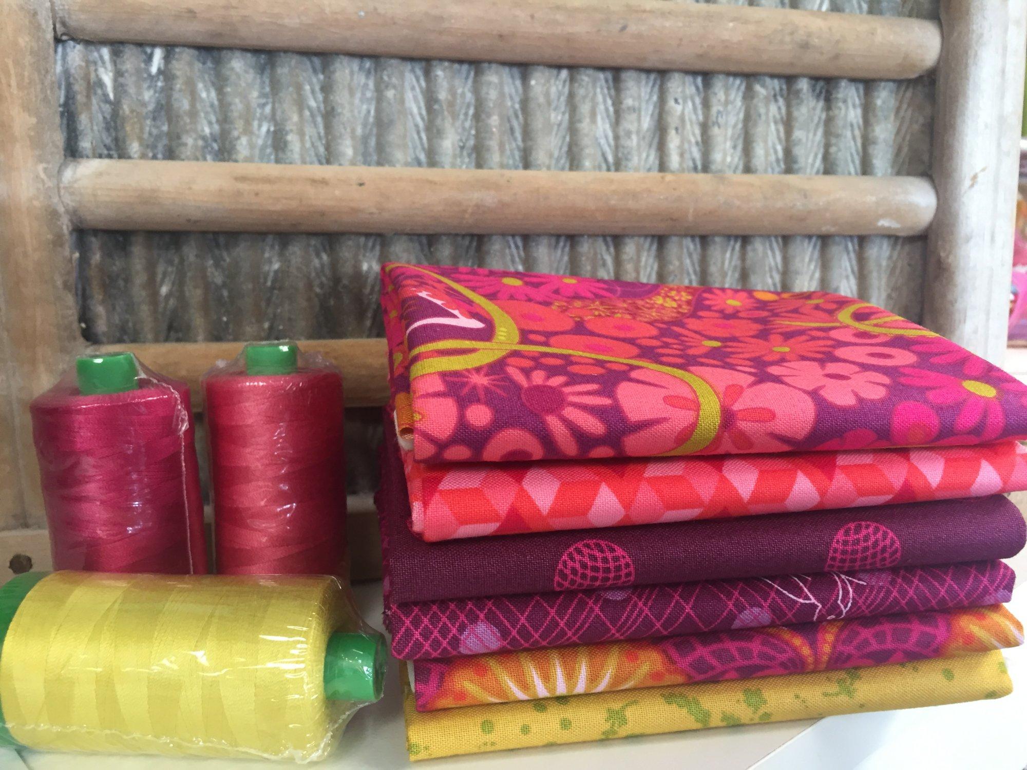 Alison Glass FQ Bundle - Warm Colors