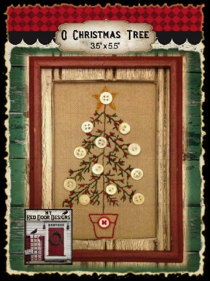O Christmas Tree By My Red Door Designs 94114