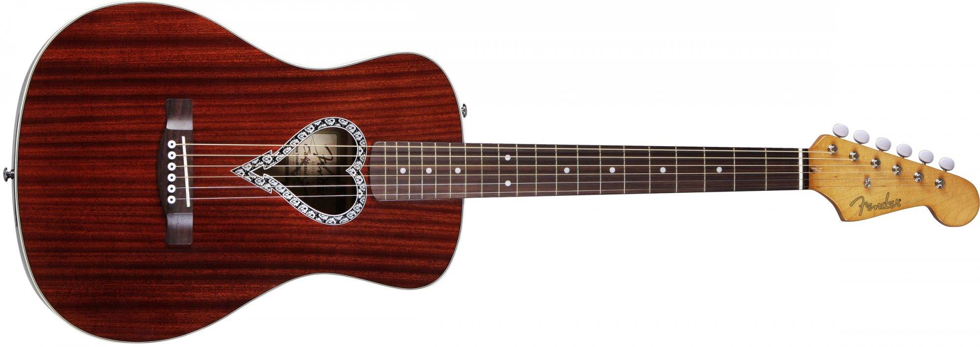 Fender Alkaline Trio Malibu Mahogany