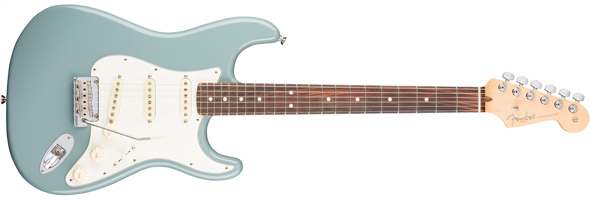 Fender American Professional Stratocaster RW, Sonic Gray