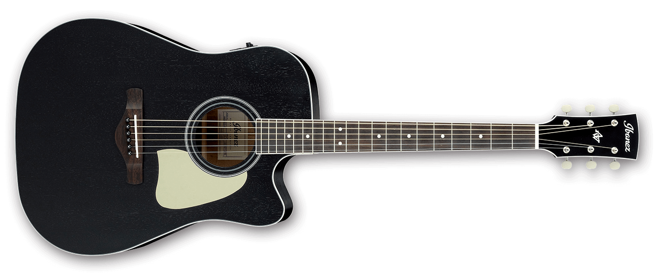 ibanez aw360ce acoustic electric guitar weathered black open pore 4515276965985. Black Bedroom Furniture Sets. Home Design Ideas