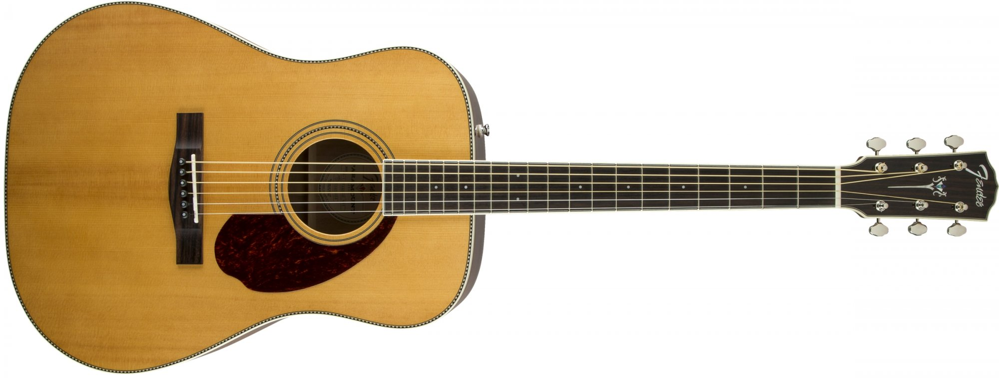 Fender PM-1 Paramount Standard Acoustic Electric Guitar, Natural