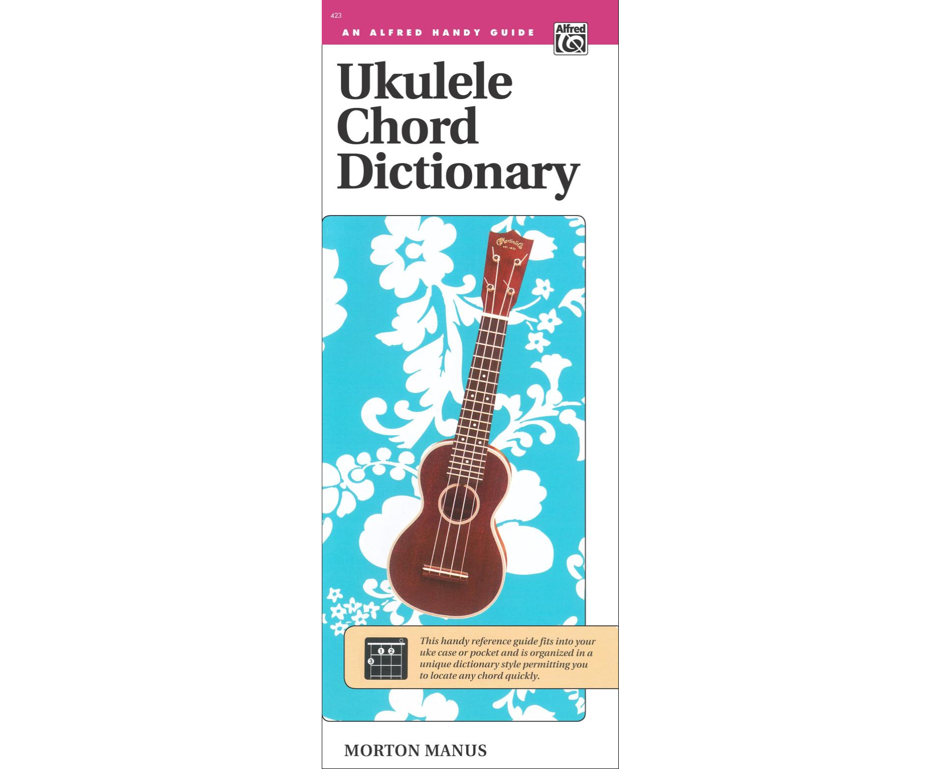 Ukulele chord dictionary an alfred handy guide 038081022260 ukulele chord dictionary an alfred handy guide hexwebz Image collections