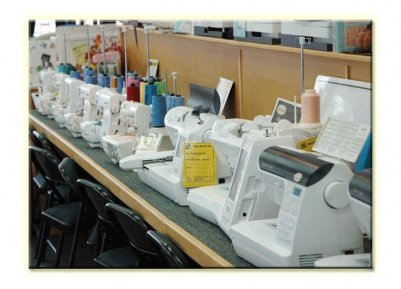 Rich's Sew and Vac Sewing machines