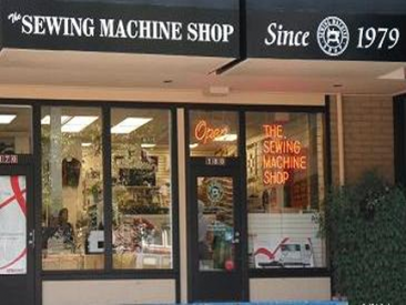 shop sewing machine