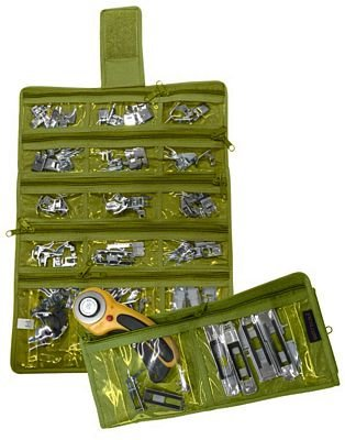 Sewing Machine Feet Organizer Green 806810211267
