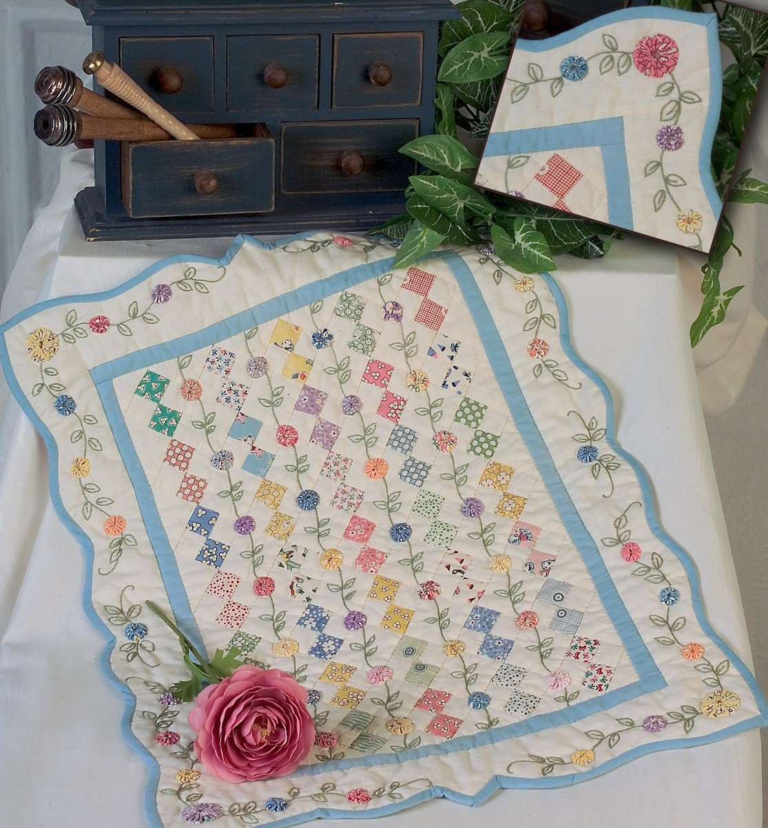Unique Quilting And Unique Hand Embroidery Are Our