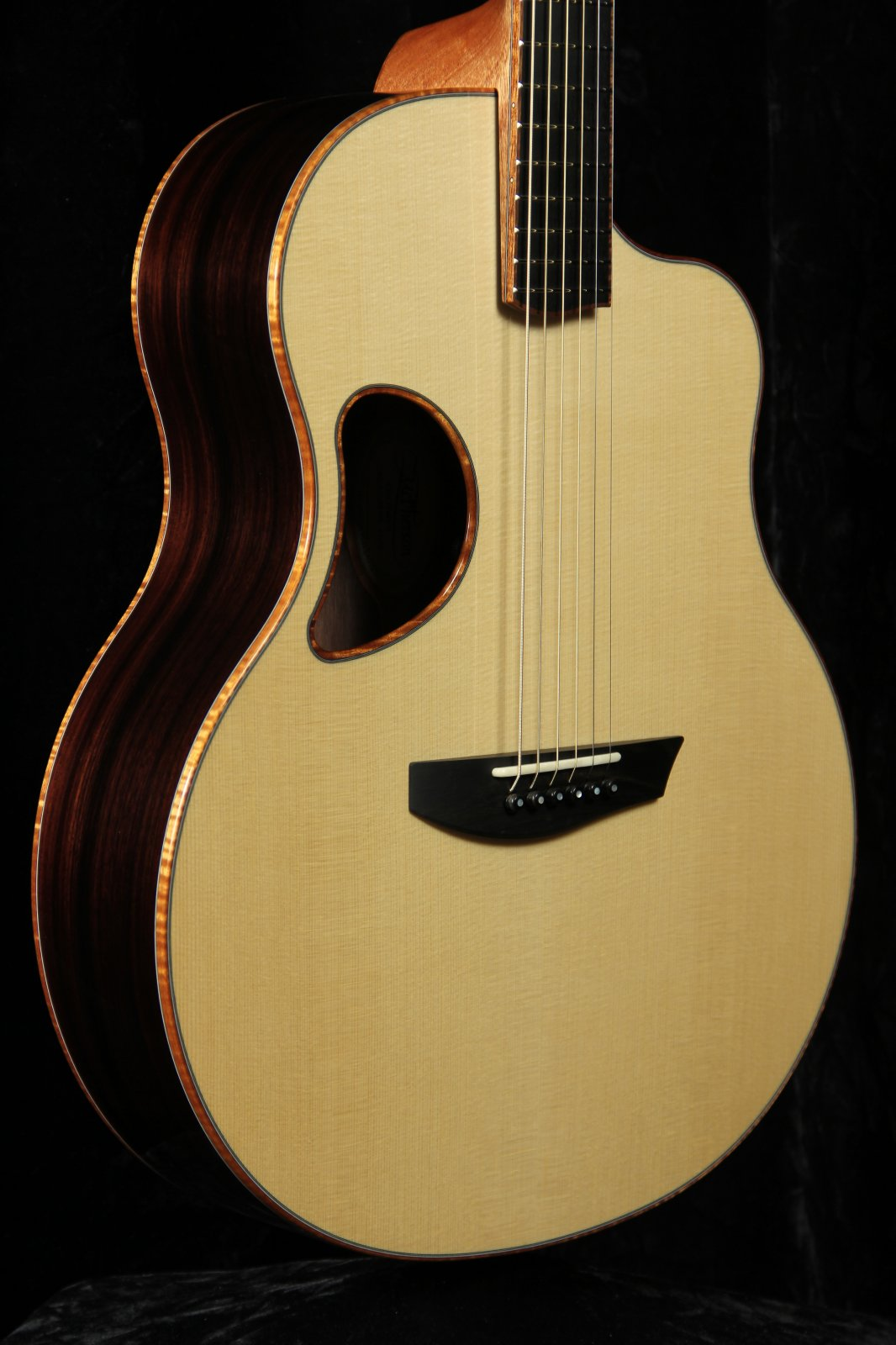 McPherson G45RERW 4.5 California Redwood Top/East Indian Rosewood Back & Sides