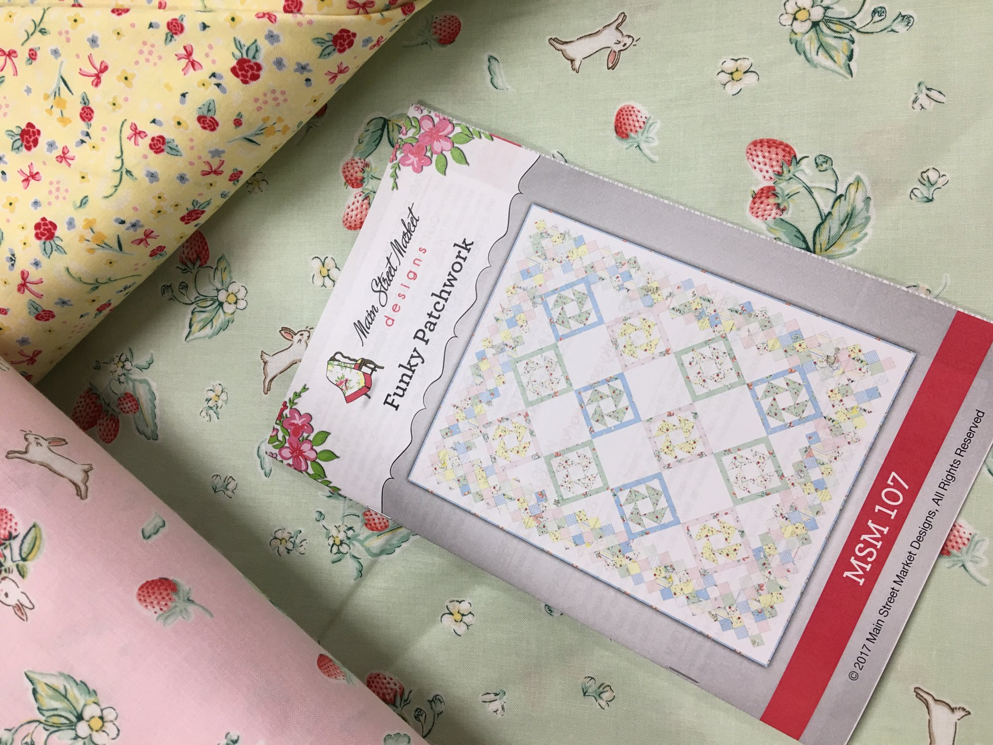 New Bunnies Amp Cream From Penny Rose For Riley Blake Designs