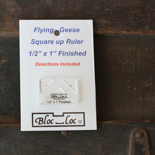 Bloc Loc - 1/2 x 1 Flying Geese Ruler