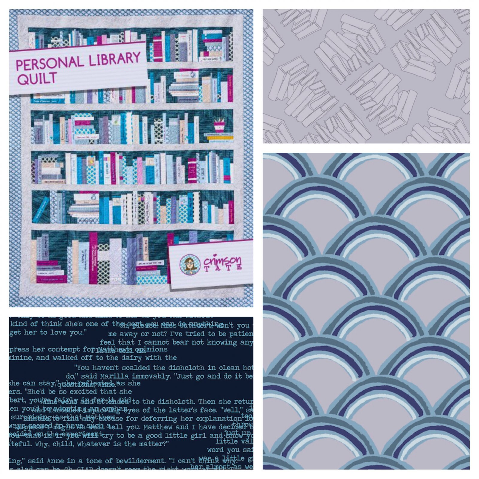 Personal Library Quilt Finishing Kit