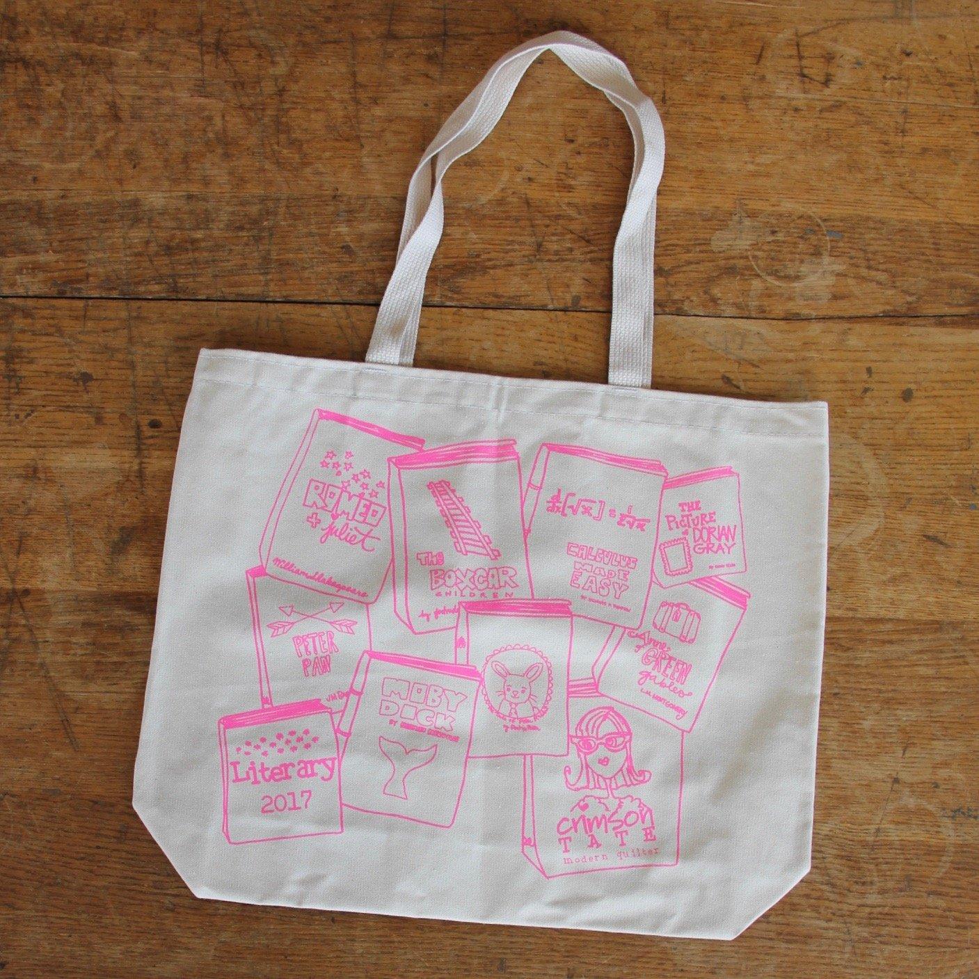 Literary Tote Bag