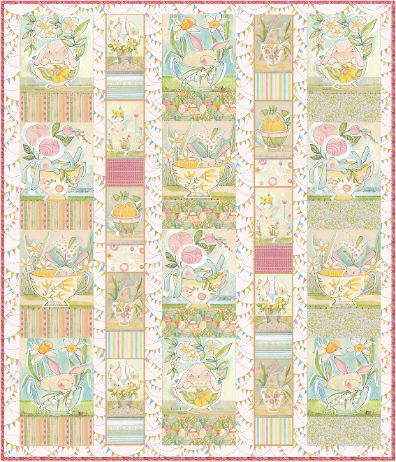 Cori Dantini The Promise of Spring - Menagerie Quilt Kit