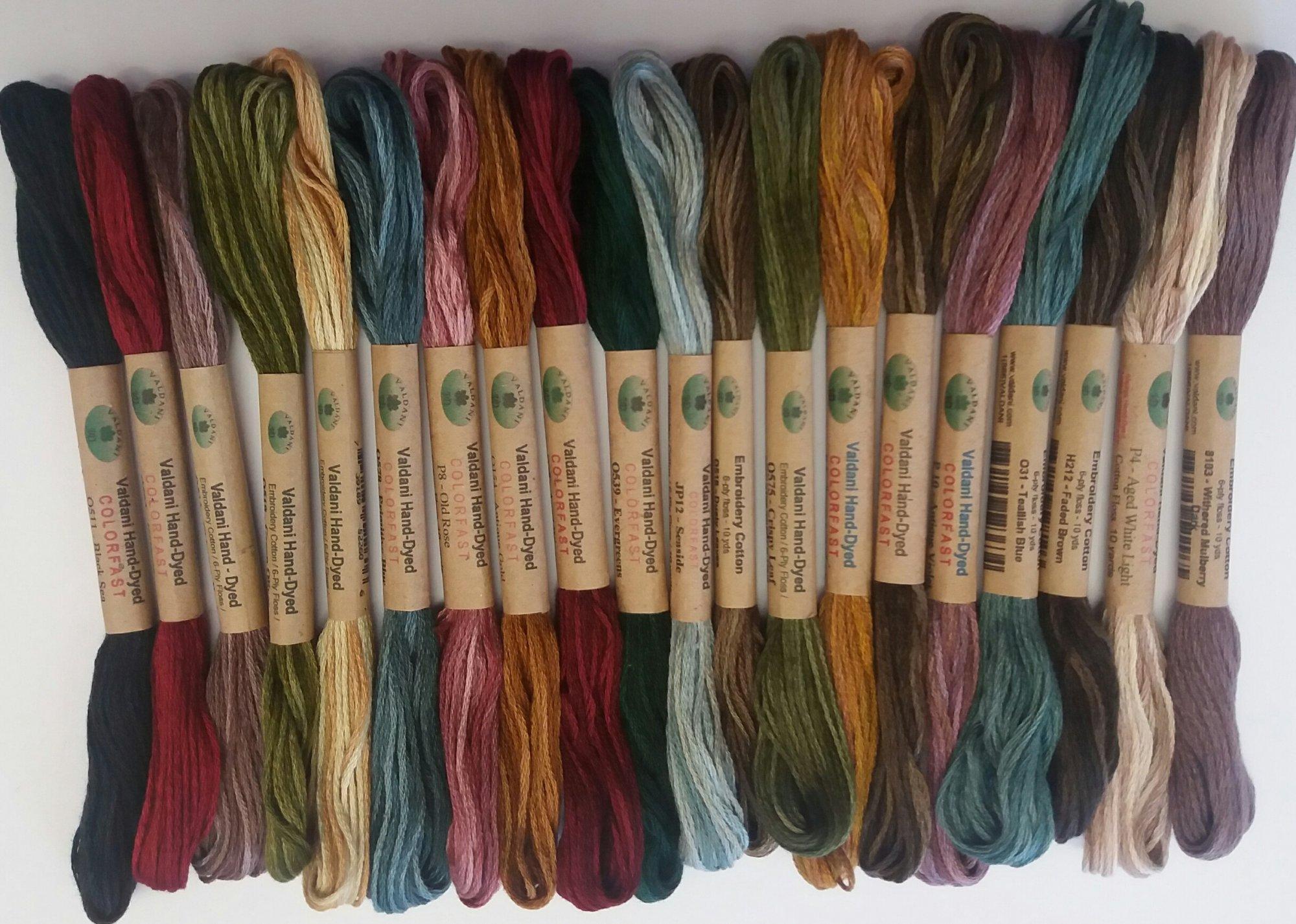 Valdani Embroidery Floss Pack