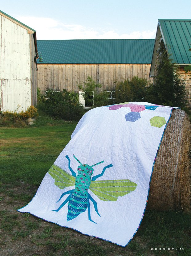 DREAMER//QUEEN BEE QUILT KIT//CARRIE BLOOMSTON//WINDHAM