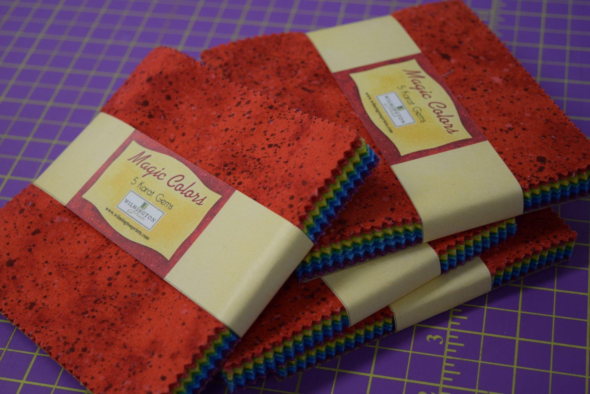 Magic Colors 5 Karat Gems - 5 Sqaures